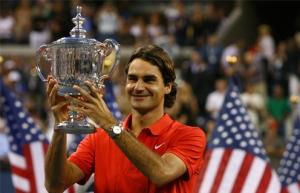 Una imagen recurrente, Federer campeón en un Grand Slam.